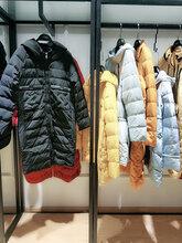 高端品牌折扣女装批发一目了然冬装新款羽绒服尾货