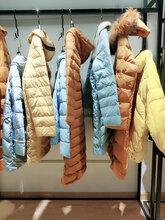 服装实体店货源艺素国际冬装新款羽绒服尾货