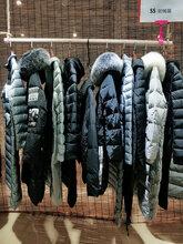 开女装店哪里进货慕拉冬季新款羽绒服尾货
