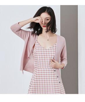 格瑞吉奥2019春夏喇叭袖外披专柜服装进货价是几折