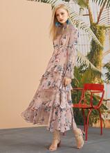 女裝貨源去哪里找比較靠譜尚維詩碎花連衣裙圖片
