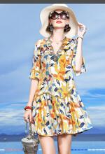 摩妮卡大碼女裝進貨迪卡軒氣質連衣裙圖片