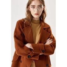 衣服貨源網站儷亨國際純色雙面羊絨呢圖片