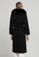 賣衣服貨源怎么找廠家歐時力風衣款羊毛羊絨大衣圖片