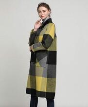 想賣衣服怎么找貨源艾安琪風衣款雙面羊絨呢圖片