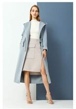 賣衣服的貨源從哪找埃文百搭雙面羊毛羊絨大衣毛呢圖片