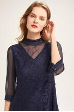 基弟2020春装苎麻新款中长裙换季服装货源图片