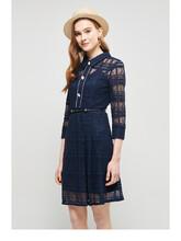 约布2020春夏新款套头中长款裙子好的女服装货源图片