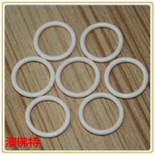 厂家加工耐腐蚀白色三元乙丙橡胶密封圈
