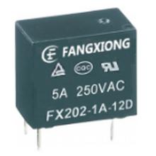 东莞市方雄继电器FX202-1A-12DH(代替HF32F)10A250图片