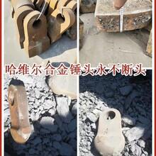 秦都区流纹岩多功能石子制砂机锤头PC1010破碎机锤头图片