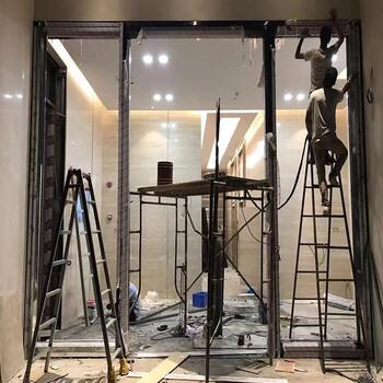 广州深圳东莞玻璃门不锈钢玻璃门地弹簧门自动感应门