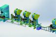 小型轴承套圈多工位自动单锻生产线,轴承保持器自动生产线