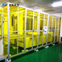 紅外線uv隧道爐流水線ZKIR-4050-20HP層式固化爐正凱機電
