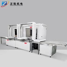 節能型自動化烘干線ZKIR-4050-20HP采用機械手搬送-層式爐
