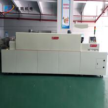 上海正凱機電紅外線無塵隧道爐蓋板油墨印刷熱風循環隧道爐