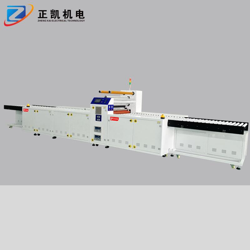 非标自动化设备厂家直销全自动覆膜裁切机非标定制轮卷覆膜机