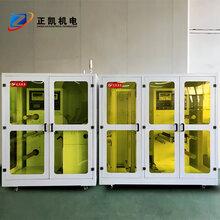 卷對卷收放料機ZKFHL-400-R2R玻璃卷對卷收發料機非標定制
