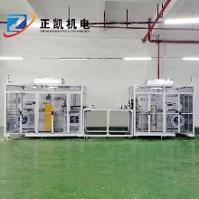 金屬蝕刻線ZK-R2R-500用卷對卷收放料機收發料圖片