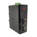 訊記科技profibus轉光纖總線光纖轉換器1路Profibus光纖轉換器總線轉光纖