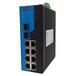 10口網管型POE工業以太網交換機工業交換機