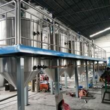 油脂精煉設備廠家小型精煉油設備精煉油機圖片
