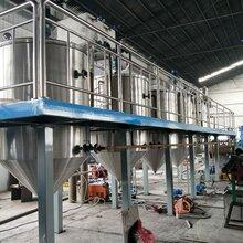 油脂精炼设备厂家小型精炼油设备精炼油机图片