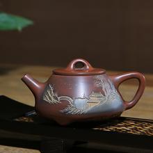 广西钦州坭兴陶茶壶的开新茶壶方法_上海坭兴陶专卖店图片