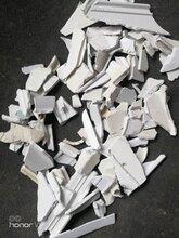 河北地区厂家处理一级塑钢破碎料塑钢粉碎料适用于uv护墙板々图片