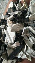 黑胶条塑钢破碎料一级塑钢料现货出售图片