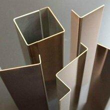 拉丝钛金不锈钢装饰条不锈钢产品定制