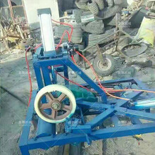 液压汽车轮胎切割机视频液压橡胶轮胎切割机报价图片