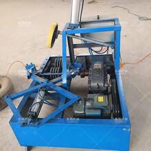 钢丝轮胎双边切割机电动废旧小轿车轮胎双边切割机报价图片