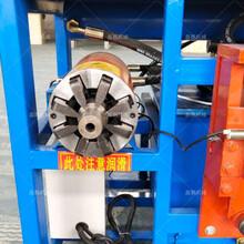 电机定子拉铜机设备小型电机定子切铜机厂家图片