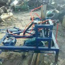 液压橡胶轮胎切割机多少钱液压小钢丝轮胎切割机报价图片