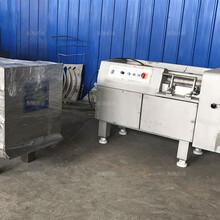 大型红萝卜350型冻肉切丁机使用方法图片