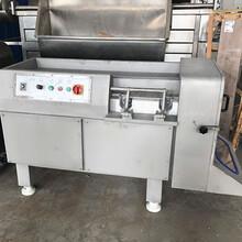 可调蜜饯350型冻肉切丁机价钱图片