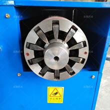 废旧洗衣机电机线圈拆解电动工具转子拆解设备性能优良图片