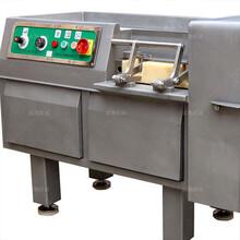 商用腊肠800型冻肉切丁机使用方法图片