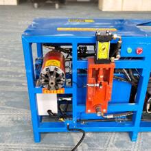 电机拔铜机多功能定子拆卸机专业生产废旧电机拆解设备图片