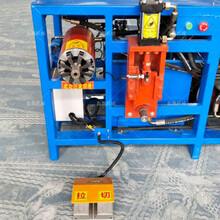 废旧电机拆解设备大功率电机定子拆解机专业生产电机拆铜机图片