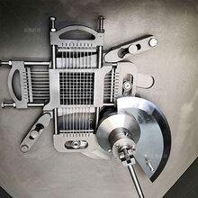 鲜猪肉切丁机微冻肉切片机图片