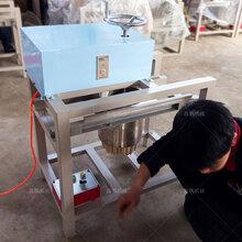 河北鑫鹏莜面窝窝机_电动莜面卷机器模具加工一次成型图片