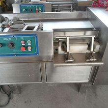 全不銹鋼防水切肉機全自動水果切塊機邢臺鑫鵬生產廠家