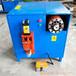 鑫鵬舊電機拆解設備電器定子拆解機液壓定子斬銅設備完整拆解