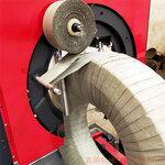 邢台鑫鹏立式钢丝缠绕包装机自动轮胎包装机包装速度快