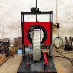 邢台鑫鹏环状缠膜机轮胎打捆机自动定位自动切带