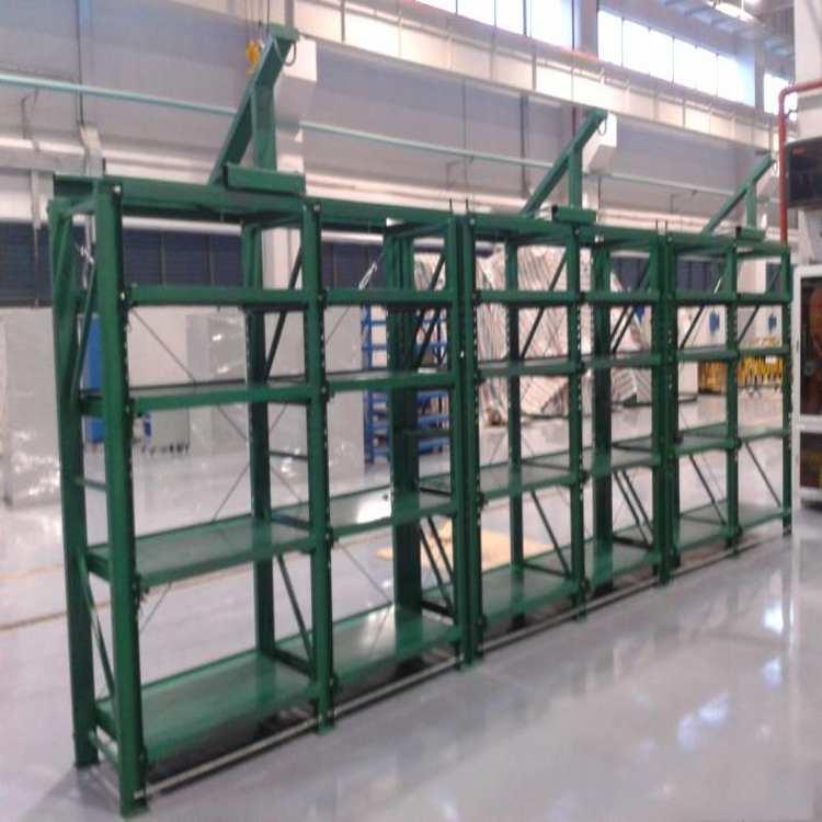 武汉模具货架重型模具货架带天车模具货架