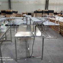 湖北武汉不锈钢工作台移动工作台周转工作台图片