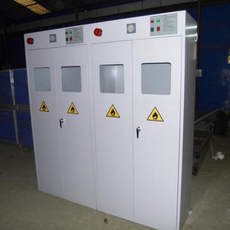 武汉全钢单瓶气瓶柜实验室单瓶气瓶柜